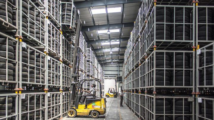 Modernizacja w halach pełnych pras